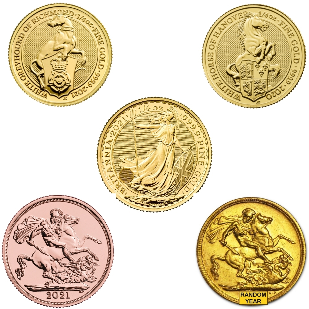 Invest in Gold and silver coins with Bullion House in UK, London.